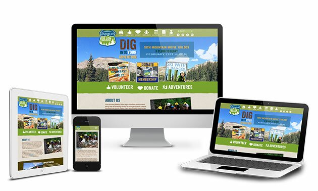 Good website design optimizes a website for all platforms including mobile. The site for the FDRD in Dillon Colorado is a good example.